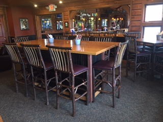 Mulligan's table